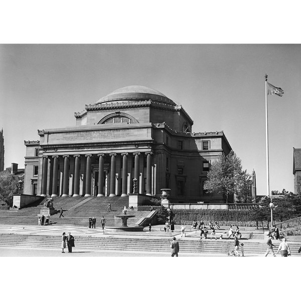 USA, New York City, Columbia University, Low Memorial Library