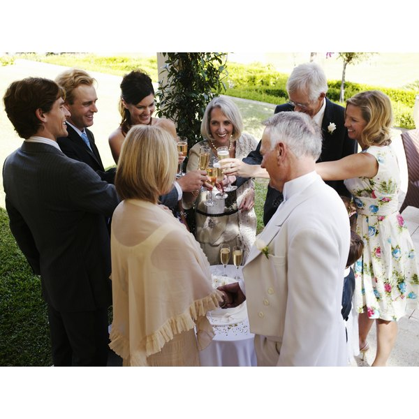 Wedding Toasts From A Guest To The Parents Of The Groom