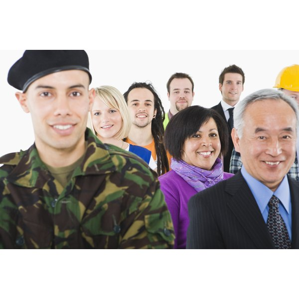 The Army offers many types of jobs for new recruits.