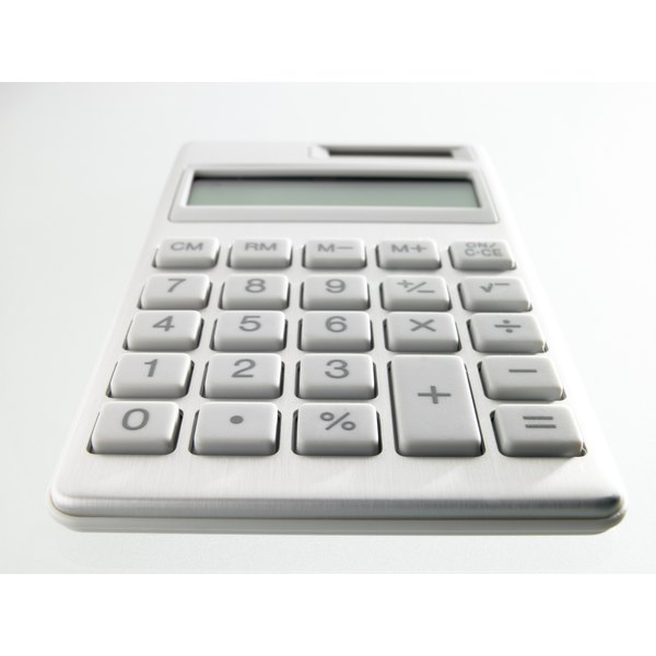 A calculator can help compute the percentage difference between actual and budgeted.
