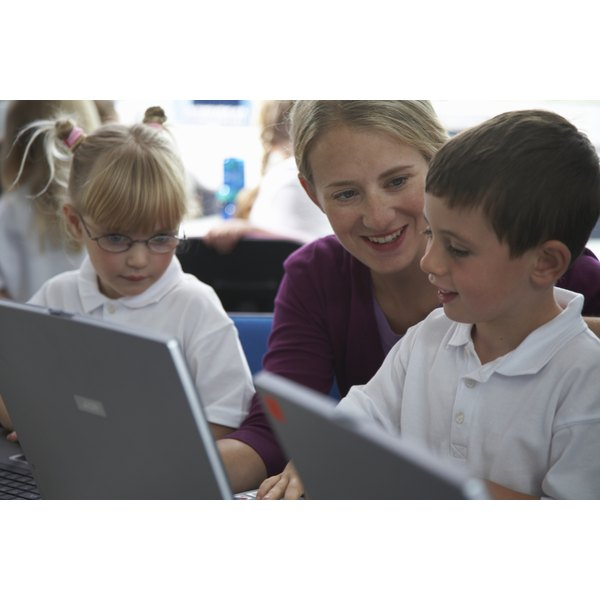 Exposing children to computers helps them hone their skills.