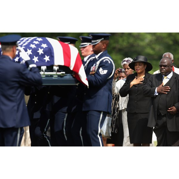 First African American Female Air Force Colonel Buried At Arlington Cemetery