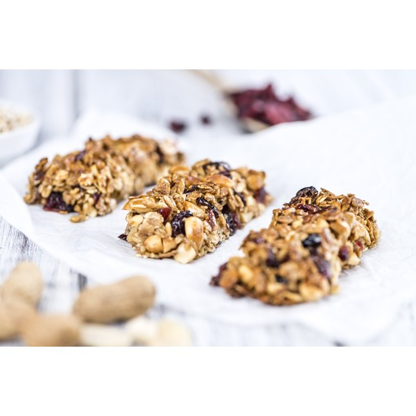 Whole grain granola bars with nuts and dried fruit offer a quick alternative if you're inclined to skip breakfast.