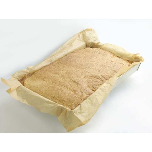 Culinary parchment paper is called for in many baking recipes.