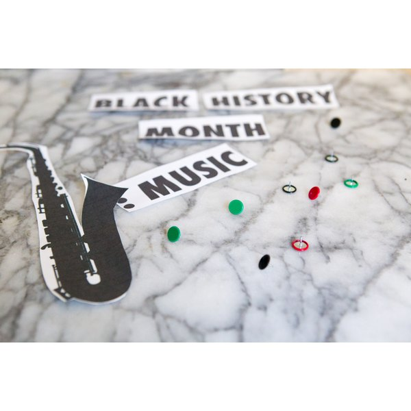 black history month decorating idea synonym