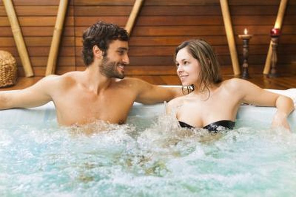 How to Have a Romantic Time in a Hot Tub