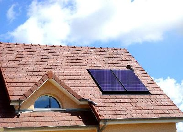 Solar panels qualify for tax credits.