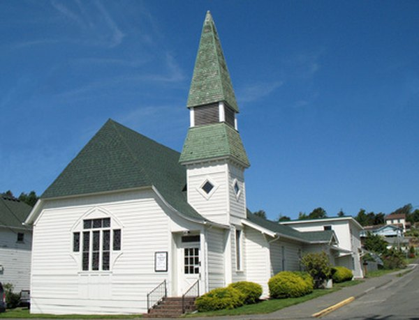 Donations to churches are generally tax-deductible.