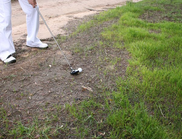 Hitting out of a bad lie can save a hole and improve scores.