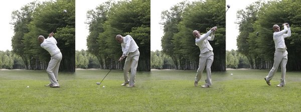 In a good swing, both tempo and rhythm feel smooth.