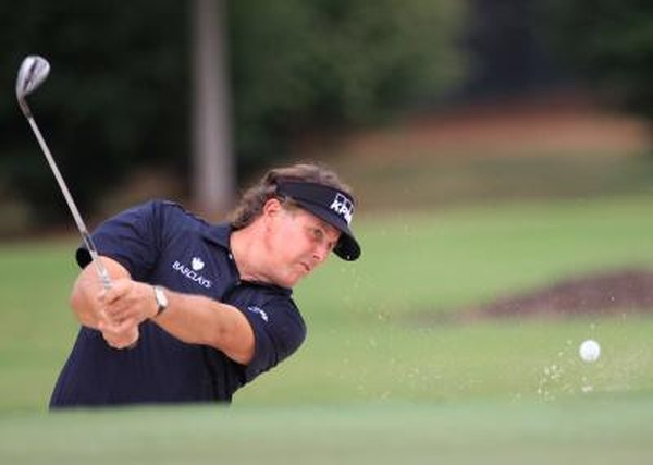 PGA Tour player Phil Mickelson is considered a master with the wedges.