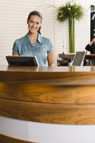 Importance Of A Receptionist Woman