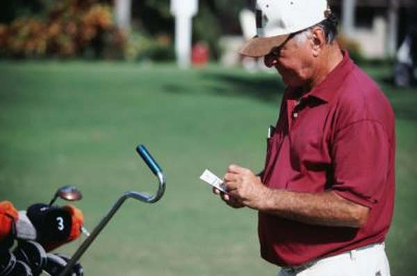 Golf scorecards are the tracking system which determines handicap strokes.