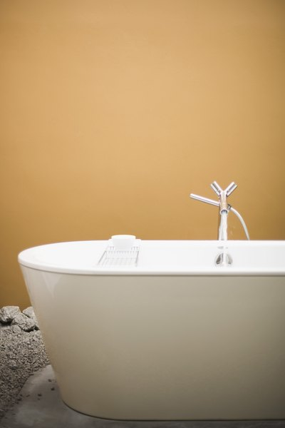 How big does a doorless shower need to be home guides for Cast iron tub vs fiberglass