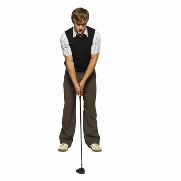 Stand with your feet straight – not pointed away from the slice – and place the ball in the middle of your stance.