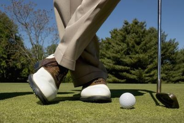 Proper shoes provide golfers with stability in the swing.