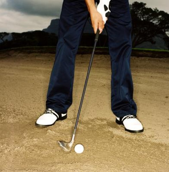 Sand wedges have bounce angles of 8 to 16 degrees.