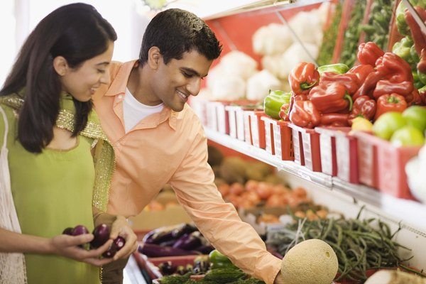 Image result for couple talking at grocery store