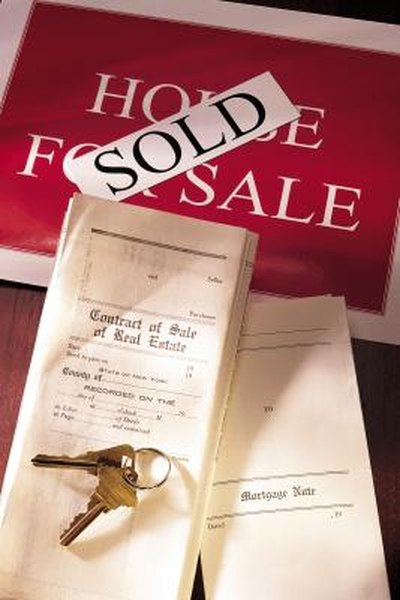 Your mortgage lender records a first trust deed to establish its priority lien on your property.