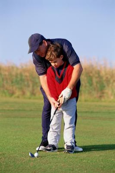 Unlike most team sports, a novice can take up golf at almost any age. Consider taking a beginner group lesson from a pro as a good way to get started.