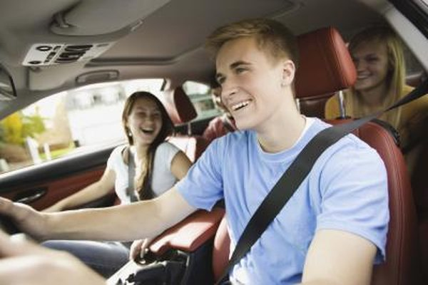 Younger drivers usually have higher insurance rates because they have more accidents.