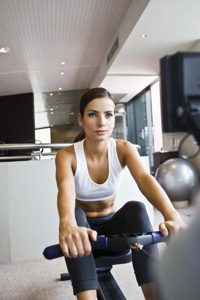 Rowing Machines Provide An Upper Body Workout Exercise Bikes Don T