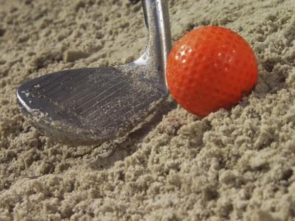 A sand wedge is one of the most lofted club, with 56 to 58 degrees of loft.