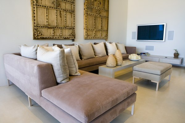 How To Arrange An L Shaped Sectional And A Couch Home