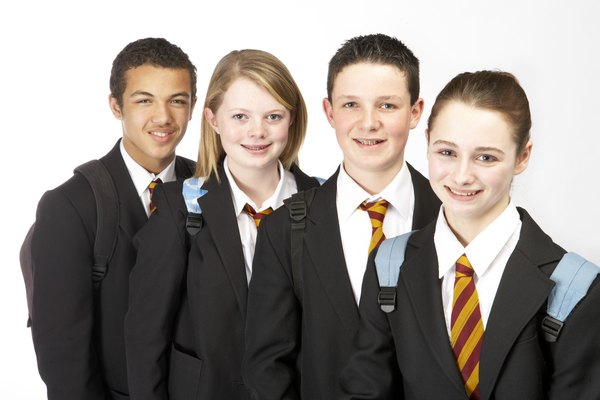 students who wear uniforms benefit more Moreover, students who are wearing uniforms can be helped by many people  for instance, they have more discounts or benefits from others.