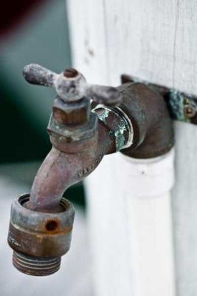 How to Remove an Anti-Siphon Valve From a Faucet | Home Guides | SF Gate