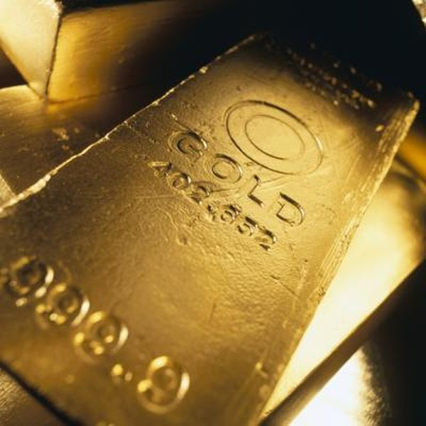 Gold futures allow for the future delivery of gold at a preset price.