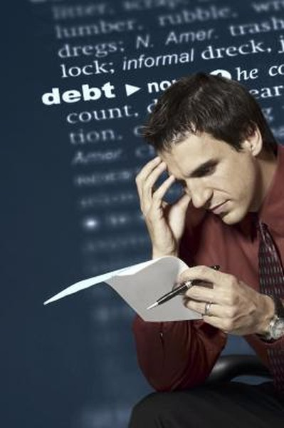 A person with high debt ratio is considered a high-risk borrower.