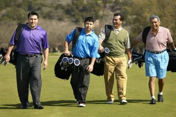 There are many different styles of golf that a group can play.