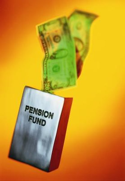 You, and often your company, contributes to your pension.