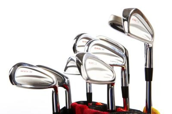 Golf clubs come in a variety of lengths.