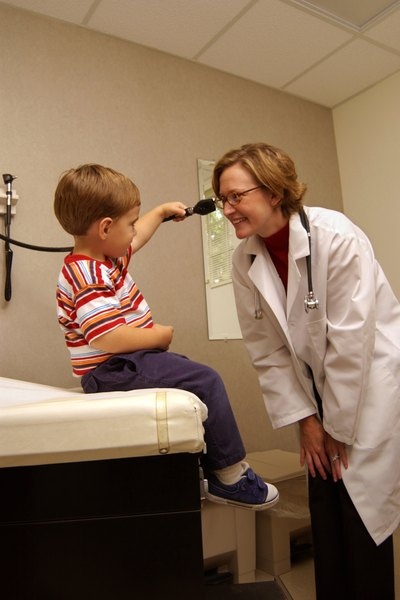 Work Conditions For Pediatricians  Woman