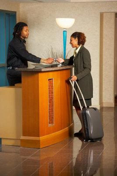 Hotel expenses on the job may be deductible, depending on where you're traveling.