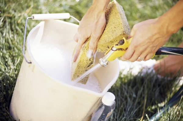 A Sponge And Soapy Water Will Clean Most Cushions Successfully.