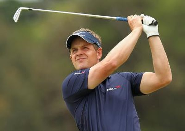Great Britain's Luke Donald earned more money on the golf course than any other pro in 2011.