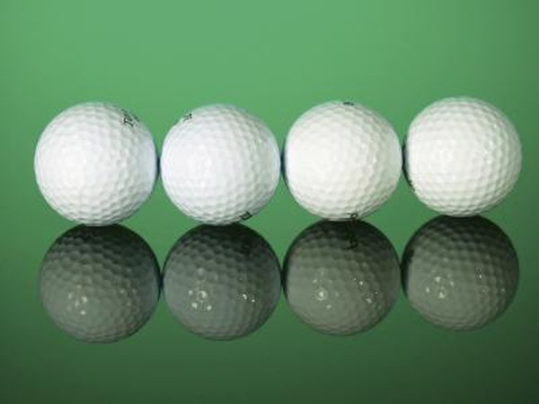 Lessen the cost of golf by recycling some old golf balls for profit.