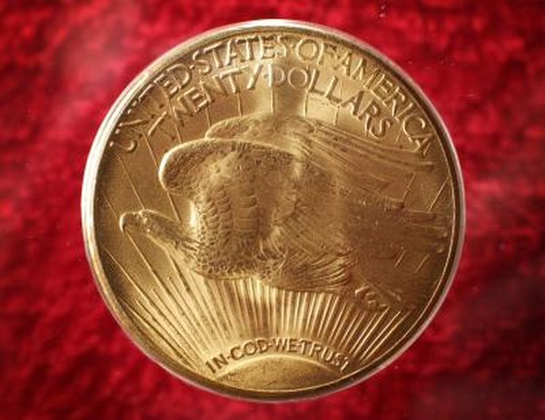 The 22-karat American Gold Eagle contains 91.6 percent gold.