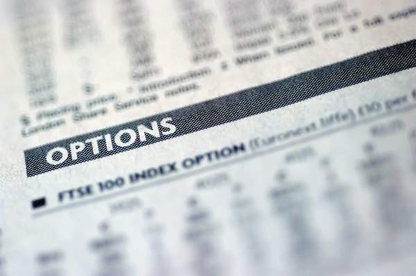 Listed stock options