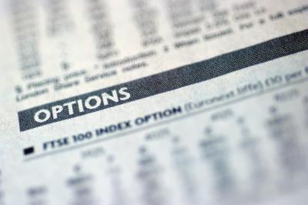 Investors can generate additional returns during volatile markets by selling options on their company stock shares.