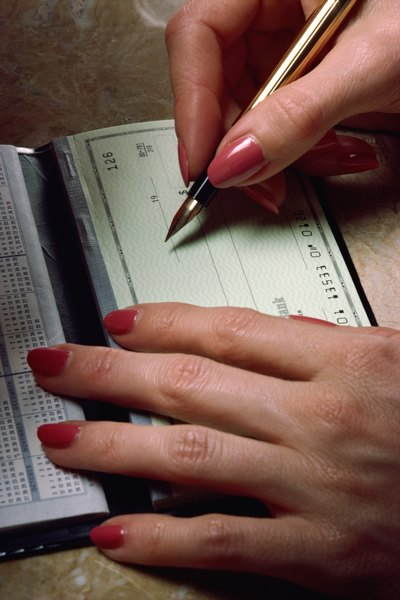 Can I write a check from one bank account to another in my name?