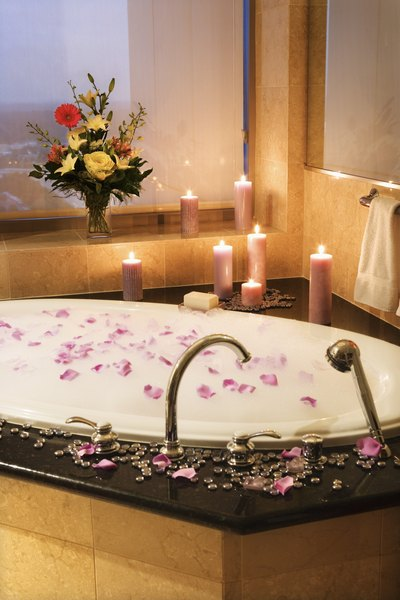 How to Make a Romantic Bathtub