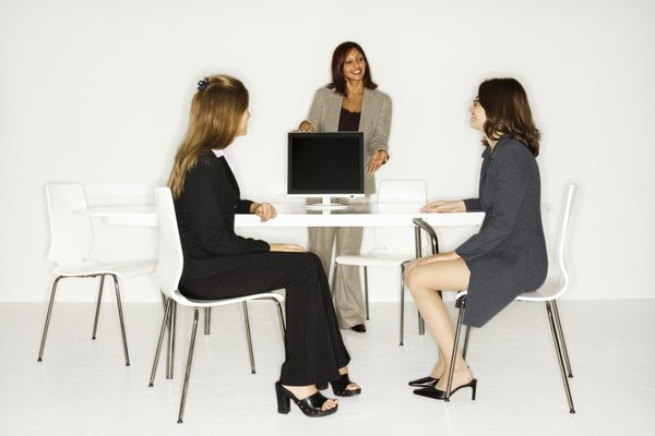 Marketing Staff Job Descriptions - Woman