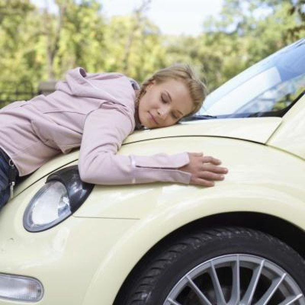 If you get a loan to buy a new car, your lender might require full-coverage insurance.