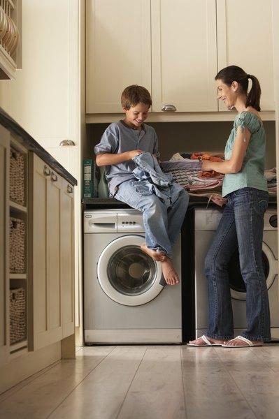 using regular detergent in he washing machine