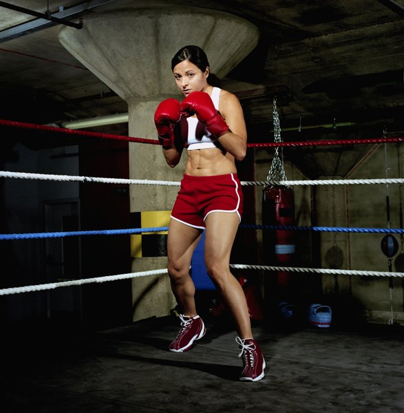 Do You Stay On Your Toes In Boxing Woman