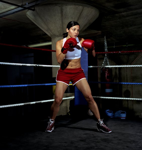 Women Boxing Footwork